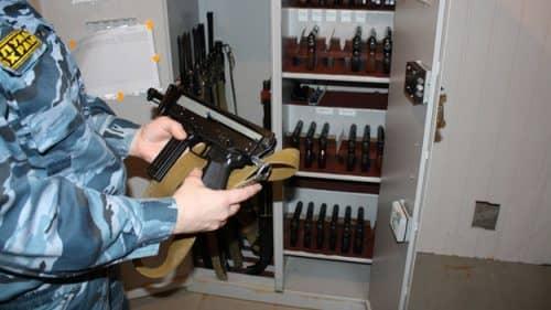 Выдача оружия