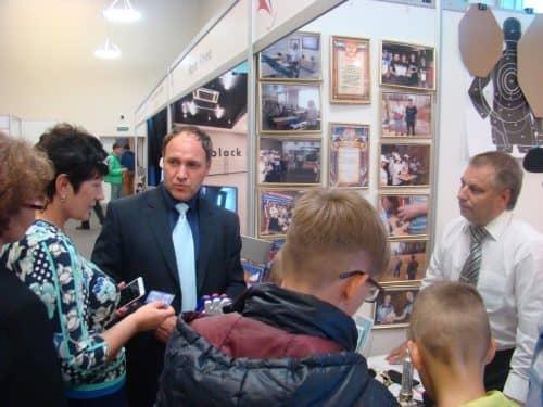 Первая выставка ЧУ ДПО ССЦ «ЛЕГИОН» в рамках официального открытия Дворца спорта «Звёздный»