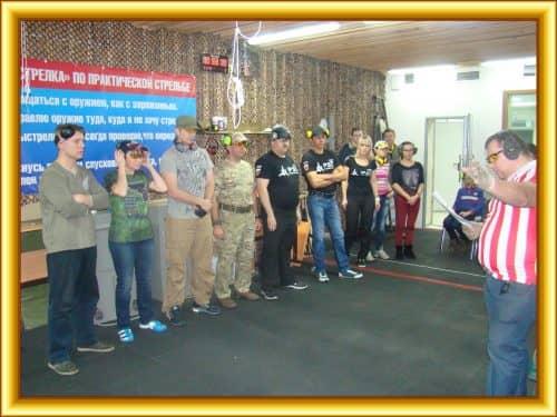 Соревнование по практической стрельбе 16 октября 2016г. из  ружья САЙГА-20