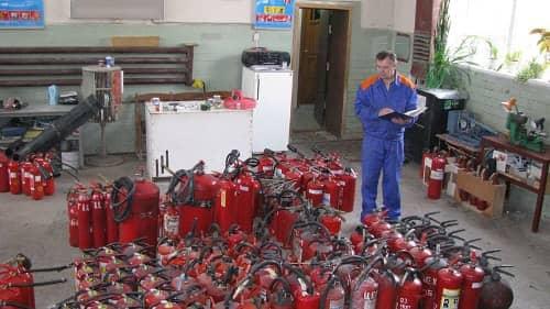 Утилизация огнетушащих веществ
