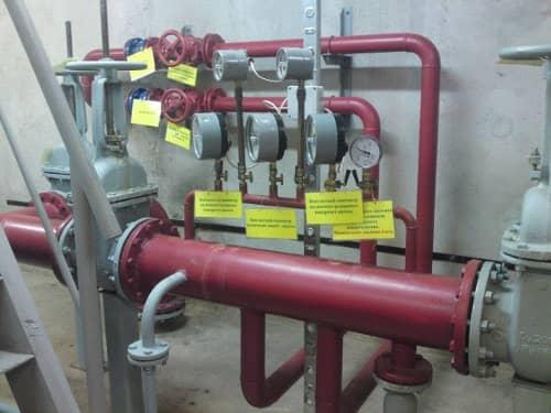 Расход воды на наружное пожаротушение